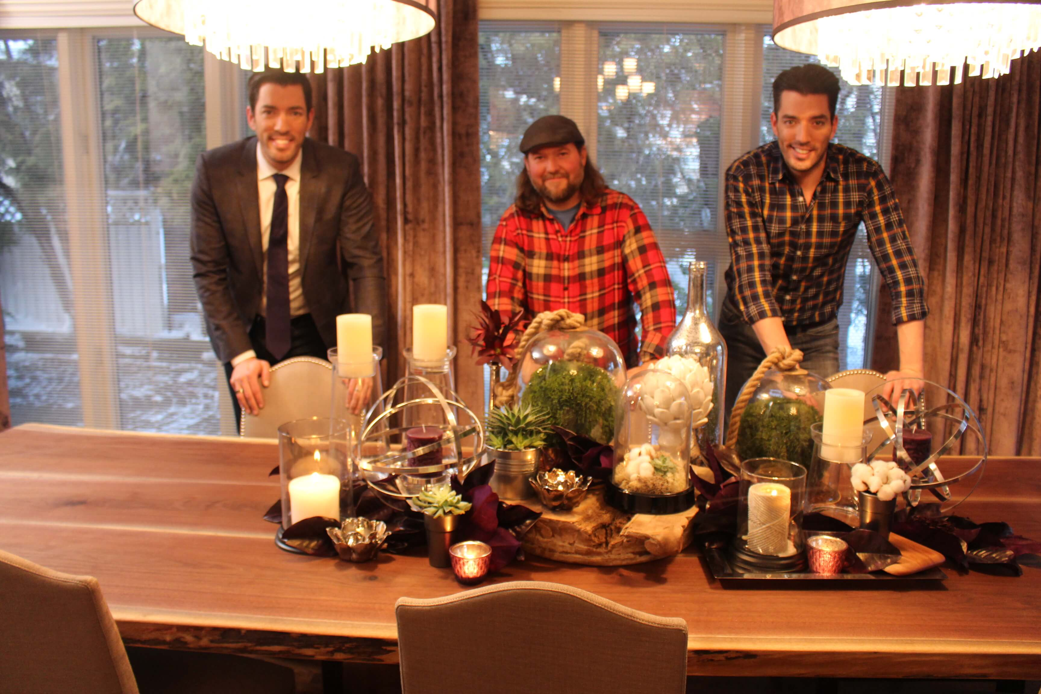 Living Wood Design creates custom pieces for the Property Brothers