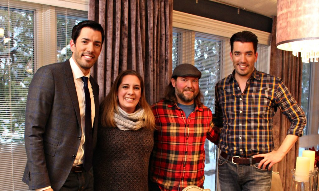 living wood design and the property brothers
