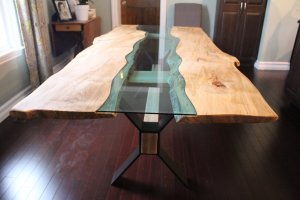 river table with live edge