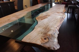 river table maple live edge